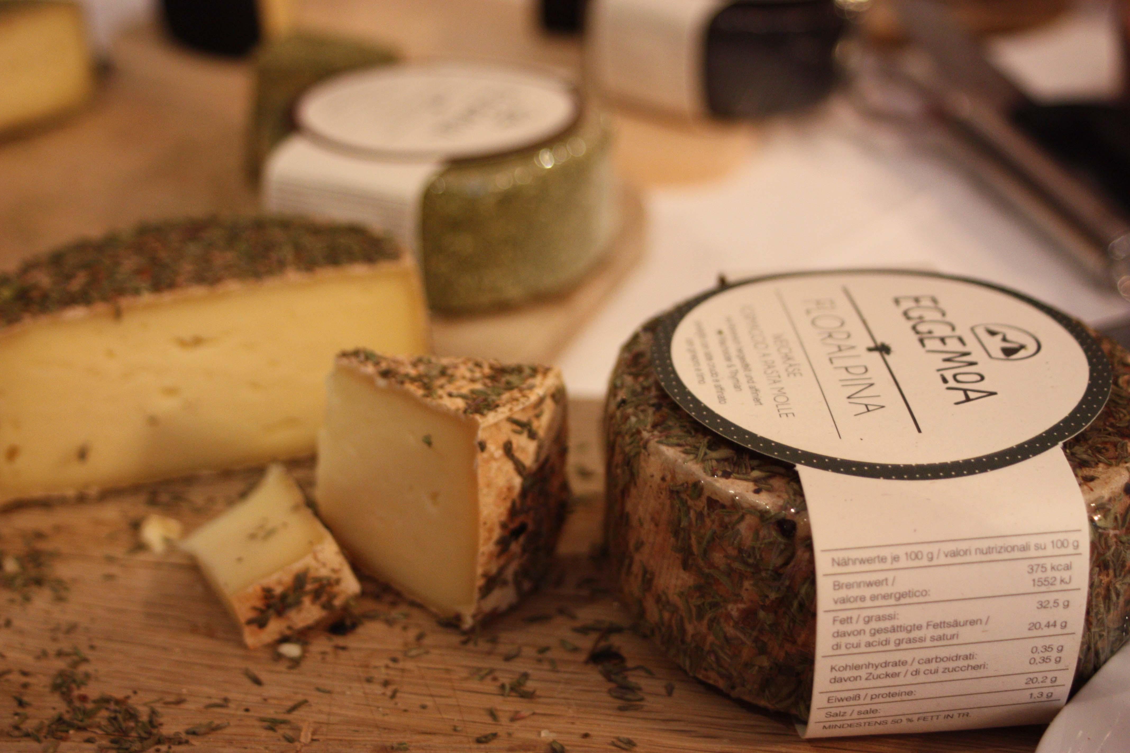 Käsespezialitäten aus dem Ahrntal