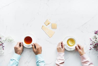 Tee & Käse